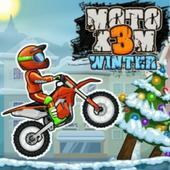 摩托X3M冬季比赛