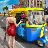 交通赛车人力车游戏