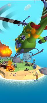 直升机摧毁