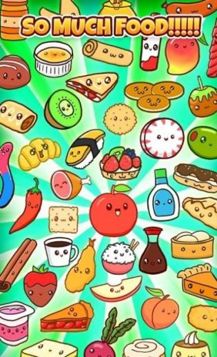 可爱的食物们