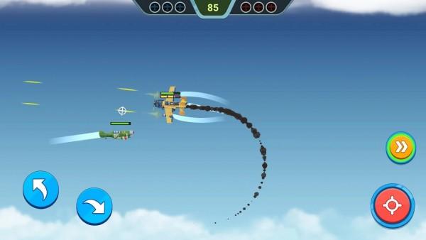 空中之星飞机战斗