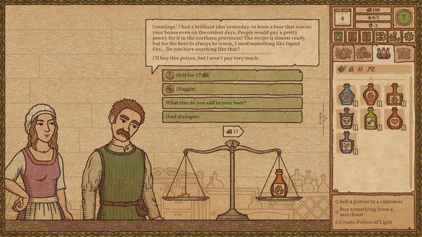 药剂工艺炼金术士模拟器